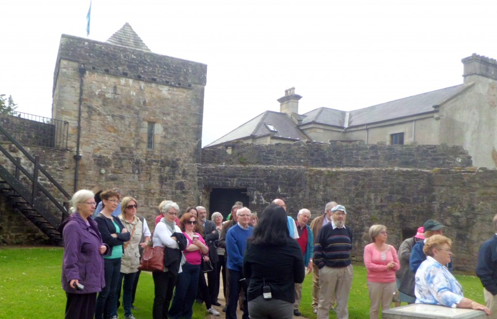 Donegal castle tour