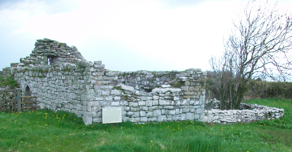 The ruins of Kilbarron Church