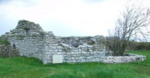 The ruins of Kilbarron Church