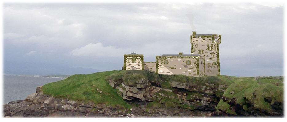 Kilbarron castle 1600