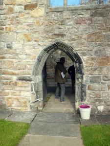donegal castle doorway