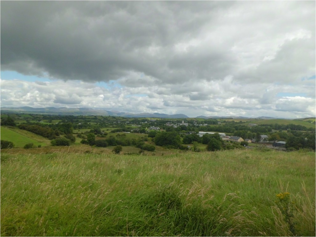 view from the hill looking towards Ballintra