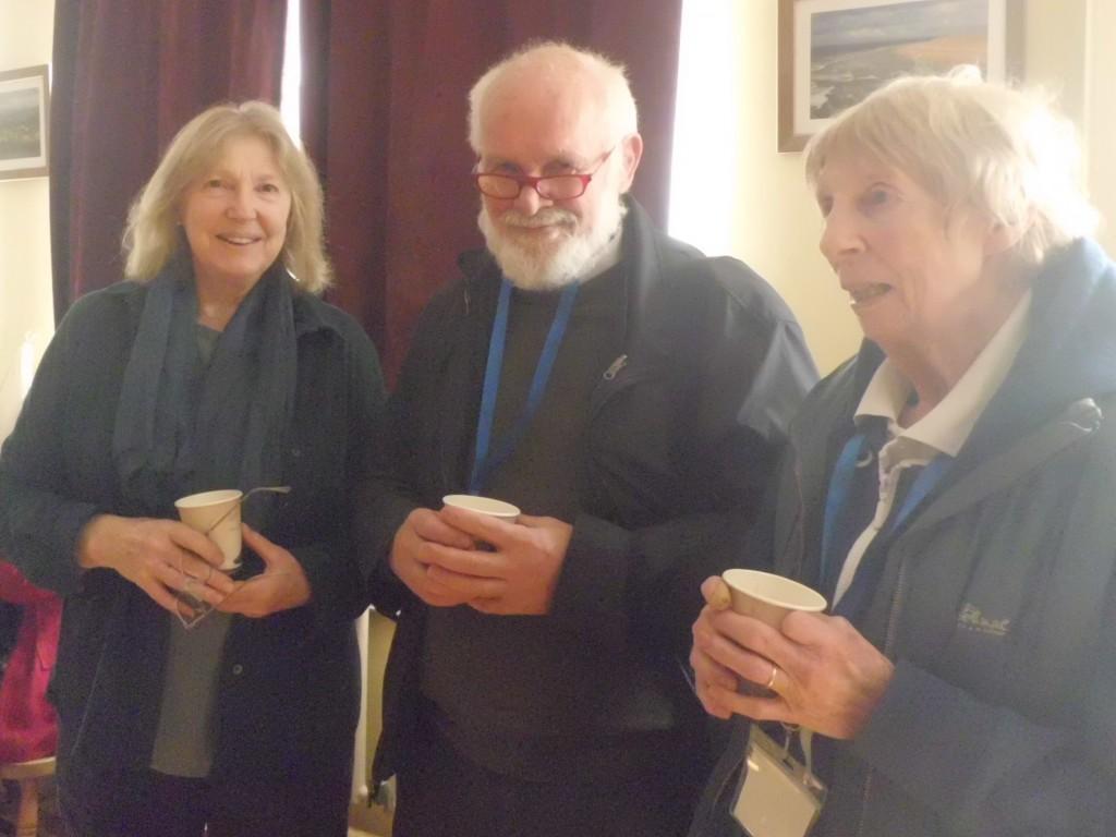 Ros Harvey Tim Stampton, Ann O'Clery